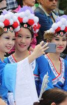'치에즈'…세계인의 날축제 참여한 中공연단