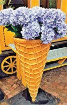 아이스크림 꽃