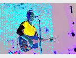 4월 15일 서울에서 공연한 록밴드 콜드플레이의 리더 크리스 마틴.[사진 제공 · 현대카드]