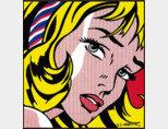 로이 릭턴스타인의 '헤어리본을 한 소녀'(1965)