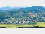 경기 파주 오두산통일전망대에서 바라본 북한 황해북도 개풍군 지역. [동아DB]