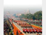 인도군이 1월 26일 공화국의 날을 기념해 군사 퍼레이드를 하고 있다. [인도 정부 웹 사이트]