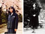 요코타 메구미가 북한으로 납치될 당시 모습(왼쪽)과 북한이 공개한 메구미의 성인 모습. [사진 제공·요코타 메구미 가족]