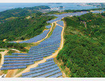 LG CNS는 일본 야마구치현 미네시 등의 폐골프장 4곳을 사들여 태양광발전소로 운영하고 있다.  [사진 제공 · 김맹녕]