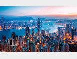 홍콩 빅토리아 하버의 모습. [shutterstock]