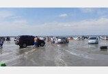 쓰나미가 휩쓸고 간 자리…해변이 주차장으로 변신?