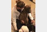 """""""매일 퇴근하면 개가 안아줘요!""""..유기견의 보은"""
