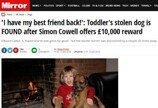 도둑맞은 강아지 되찾은 아이..`산타 선물?`