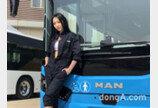 전복 걱정 없는 '2층 버스'… 만트럭, 버스 안전기술 시승회 개최