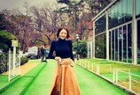 서효림, 가족 결혼식에 참석한 반려견 '복순이'