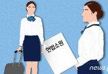 """""""비행승무원, 원양선원 못지않게 힘들어요"""" 비과세 차별 헌법소원"""
