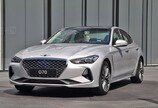 '제네시스 G70' 외관 살펴보니… 크기로 'BMW 3시리즈' 압도