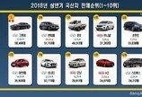 상반기 국산차 판매순위… 시장 장악한 현대기아 '점유율 82%'