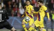 메시, 사상 최초 UEFA챔피언스리그 15시즌 연속 골