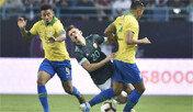 한국전 앞둔 브라질, 메시복귀한 아르헨에 패배