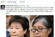 """신동욱 """"박근혜-최순실 '월화목 재판' 가까이 하기엔 너무 먼 당신"""""""