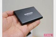 [리뷰] 느리고 약한 외장하드는 가라, 삼성전자 포터블 SSD T5(2TB)