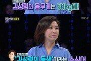 """'1대 100' 김성경 """"언니 김성령 SNS 몸매 사진 화제…본인도 놀라"""""""