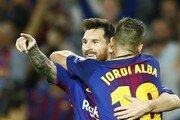 네이마르 없어도…'4골 폭발' 메시 덕분에 뜨거운 바르셀로나