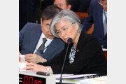 전략핵-전술핵 차이 제대로 설명못한 강경화 외교