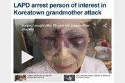 美 LA 한인타운 '묻지마 폭행' 용의자 체포…보석금 1억1300만원