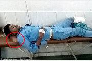 다리 절단 응급 환자 머리에 베개 대신 잘린 다리를…가족 충격