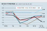 한달새 1억 떨어져… 강남 전세시장 '비명'