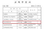 """""""민중은 개·돼지"""" 나향욱, 교육부 산하기관 복귀…직급 강등"""