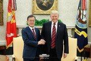 """文대통령 """"한미FTA 개정으로 한미동맹 경제영역까지 확장"""""""