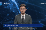 중국서 AI 앵커 등장, '세계 최초'