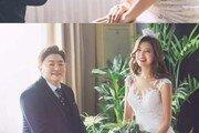 정재용♥이선아, 웨딩 사진 공개…달달 눈빛+행복 미소
