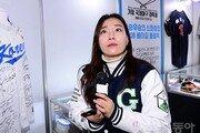 기장야구대축제 공식리포터로 현장 누비는 개그우먼 박은영