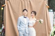 """'1월의 신부' 허안나, 7년 연애 끝에 결혼…""""커플링이 결혼 반지로"""""""