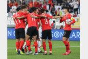 한국, 중국 꺾고 조1위로 16강 진출