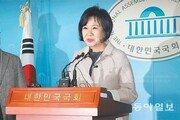 與원내대표도 참석한 손혜원 회견… 야당-언론에 '선전포고'