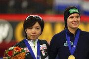 고다이라, 스톱… 빙속 女500m 3년 37연승 끝