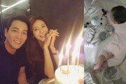 """차예련 딸 공개…""""생후 210일째, 사랑스러워"""""""