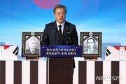 文대통령 국정 지지율 소폭 상승 48.2%…5주째 긍정·부정 '팽팽'