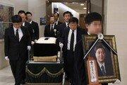 김홍일 전 의원 발인식…5·18 구묘역 임시안장 후 국립묘지 이장 추진