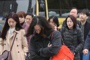 [날씨]27일 최저 1~9도에 강풍 겹쳐 쌀쌀…강원·경기 늦서리도