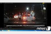 음주운전 20대 여성 경찰 정지요구 무시하고 도주하다 잡혀