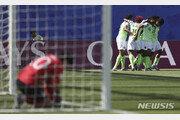 나이지리아에게 0:2 패, 여자월드컵 16강행 먹구름