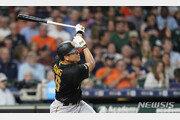 강정호, 시즌 6호 투런 홈런에 멀티히트 작렬