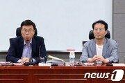 """한국당 공천룰 갈등 표면화?…혁신특위 당대표 보고에 """"슬그머니 안돼"""""""