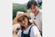 """윤세아, 정우성과 인증샷…""""잘생겨서 깜짝!"""""""