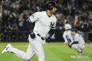 '홈런 두 방' 양키스, 벌랜더 무너뜨리고 ALCS 기사회생