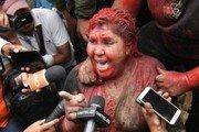 납치 당해 강제 삭발…볼리비아 女시장 '지옥의 하루'