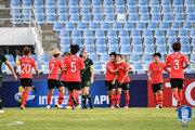 U-19 여자대표팀, 호주에 9-1 대승…U-20 월드컵 진출 성공