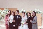 """'심은진→윤은혜' 베이비복스, 간미연 결혼식에 총출동 """"잘 살아"""""""
