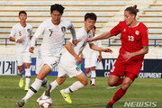 '골대 불운' 한국, 레바논과 0-0 무승부…조 1위 유지